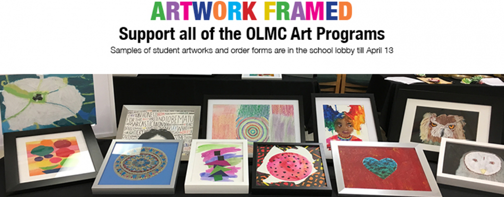 Framed Art Work Sale - Academy of Our Lady of Mount Carmel